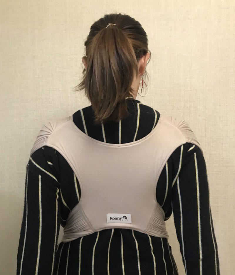 肩と腰への負担が少ない