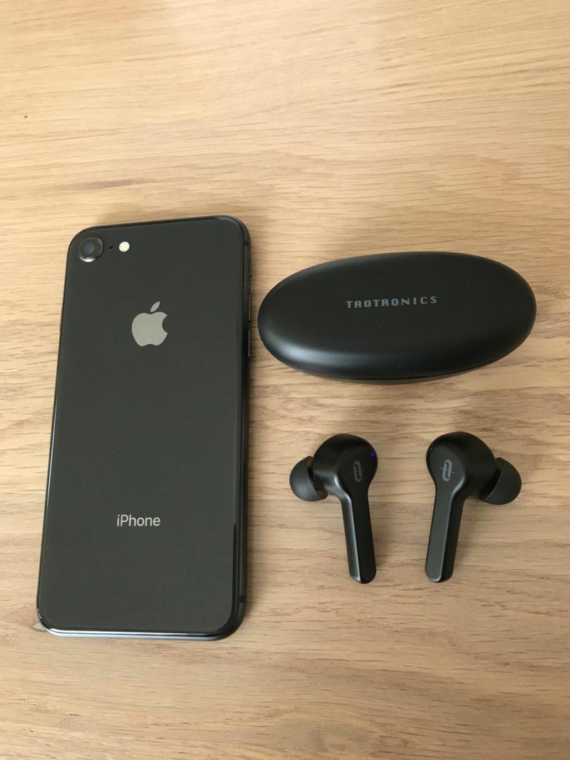 """最新のBluetooth5.0採用&iPhoneなどiOSデバイスの高音質コーデック""""AAC""""に対応"""