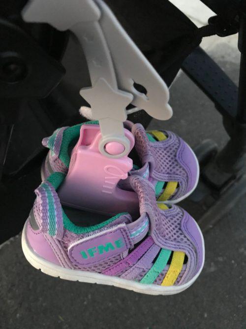 クリップが靴の形をしている